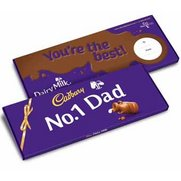 No1 Dad Dairy Milk Bar