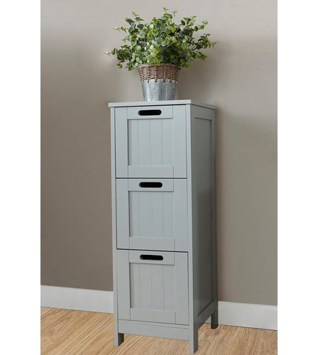 Bathroom 3 Drawer Slim Chest Studio