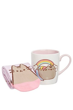 Pusheen Mug and Sock Set
