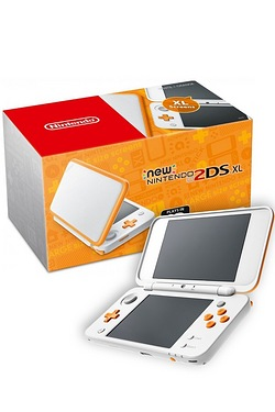 Nintendo New 2DS XL White & Orange