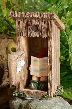Gnome Outhouse