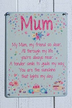 Mum Sentiment Plaque