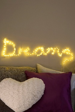 Make Your Own Fairy Lights Sign