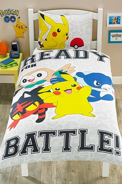 Pokemon Single Panel Duvet Set