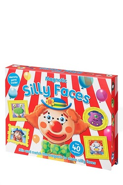 Magnetic Fun Station Book - Silly F...