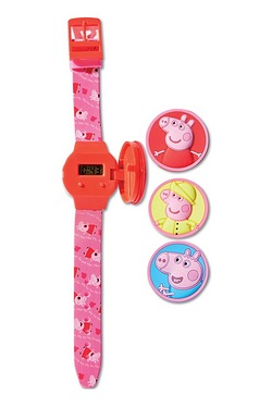 Kids Interchangeable Peppa Pig Watch