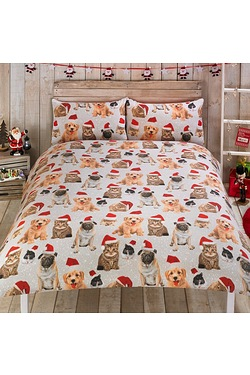 Festive Animals Duvet Set