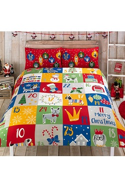Patch Advent Duvet Set