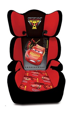 Character Car Seat - Cars 3