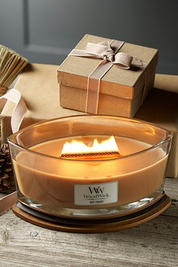 Woodwick Hearthwick Candle - Hot Toddy
