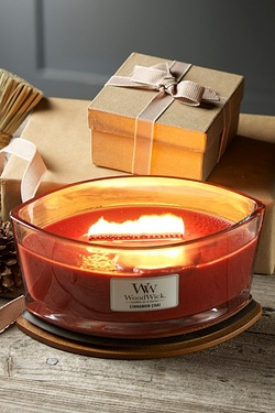 Woodwick Hearthwick Candle - Cinnam...