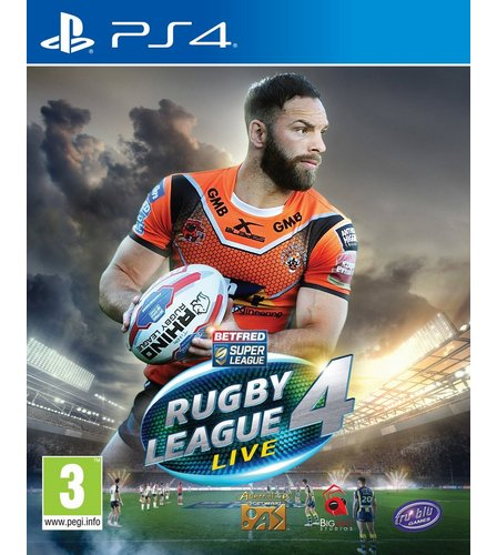 Image for PS4: Rugby League Live 4 from studio