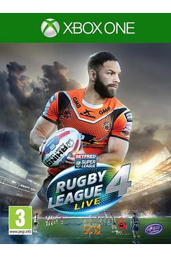 Xbox One: Rugby League Live 4