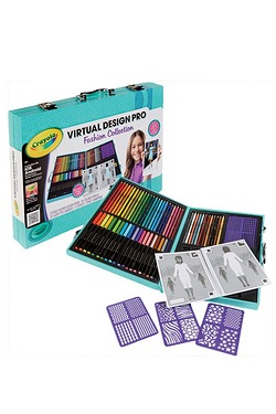 Crayola Virtual Art Design - Fashion