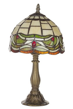 Wisbech Tiffany  Table Lamp