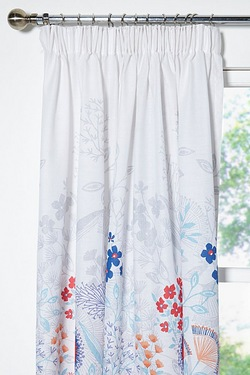 Claudine Unlined Curtains