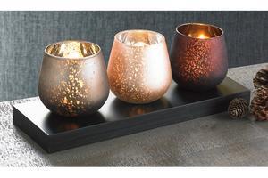 Image of Set Of 3 Tea Light Holders