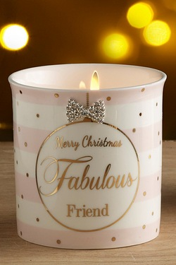 Christmas Candles - Fabulous Friend