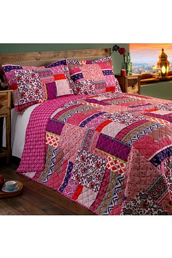Agra Bedspread With Free Pillowshams