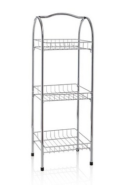 3 Tier Chrome Plated Storage Rack