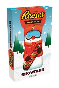 Reeses Snowman