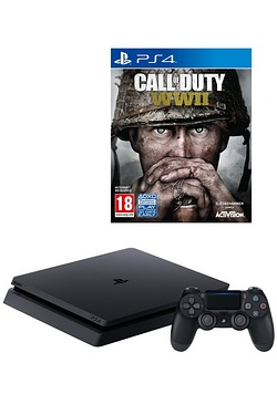 PS4 1TB Console + Call Of Duty WWII