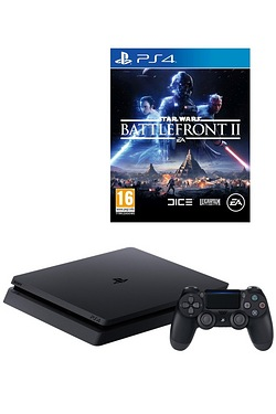 PS4 1TB Console + Battlefront II