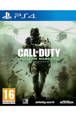 PS4 Call Of Duty Modern Warfare Rem...