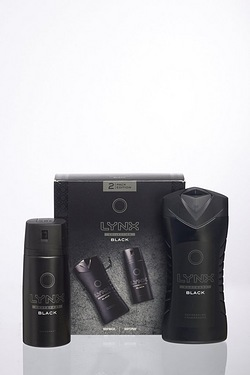 Lynx Duo Black Gift Set