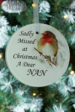 Memorial Glass Decoration Nan