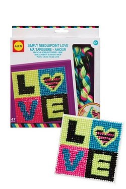 Simply Needlepoint Love