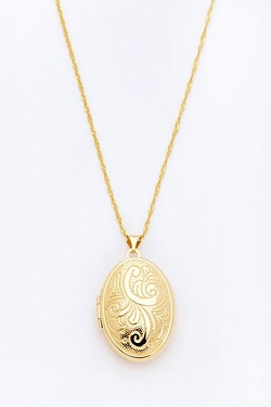 Bonded Round Locket