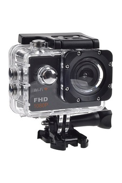 B-Aktiv Full HD 1080p Action Cam with WiFi