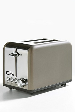 EGL 2-Slice Matt Bronze Toaster