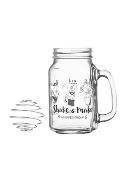 Kilner Shake and Make Whipped Cream Set