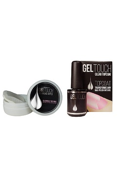 Gel Touch Clear Top Coat and Cleans...