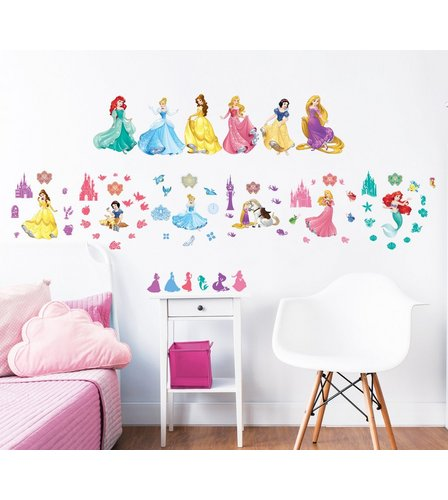 Image For Disney Princess Wall Stickers From Studio