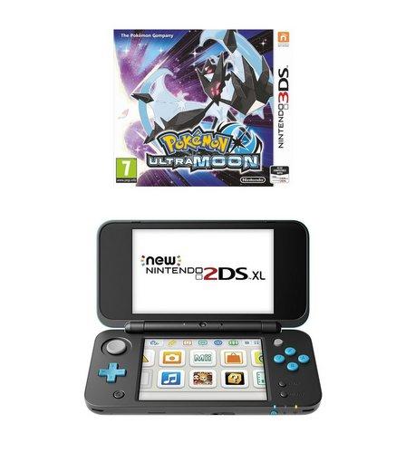 Nintendo black and turquoise 2ds xl pokemon moon studio for Housse 2ds xl pokemon