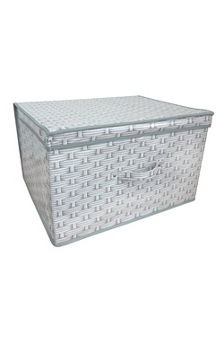 Foldable Storage Chest - Basket Weave