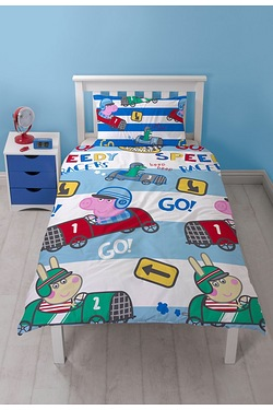 George Pig Speed Single Rotary Duvet