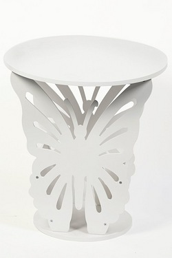 Side Table Butterfly Design