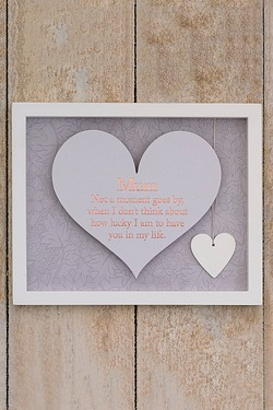 Said With Sentiment Heart Frame -Mum