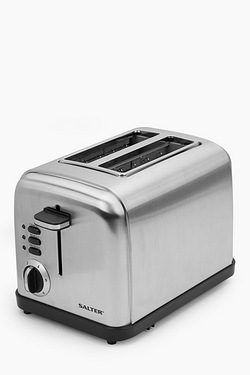 Salter 2-Slice Stainless Steel Toaster