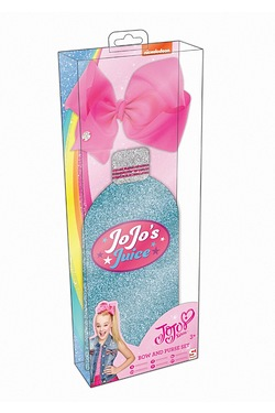 JoJo Siwa Flat Zip Purse and Bow Set