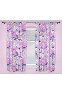 Peppa Pig Happy Drop Curtains