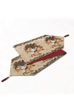 Christmas Bells Tapestry Table Runner