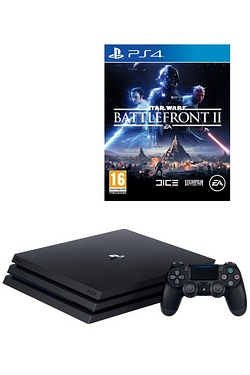 PS4 Pro 1TB Console + Star Wars Bat...