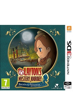 Nintendo 3DS: Laytons Mystery Journey: Katrielle and The Millionaires Conspiracy