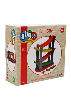 Wooden car Slide
