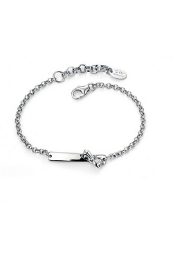 D For Diamond Bow Bracelet